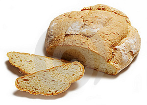 Sliced Loaf Of White Bread Royalty Free Stock Images - Image: 9046759