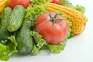 Foodgroup: vegetables Royalty Free Stock Photography
