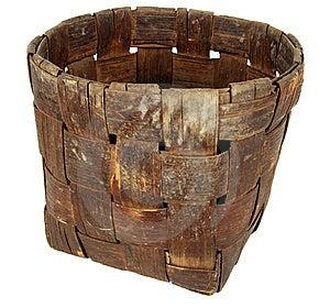 Basket Stock Photo - Image: 9048210
