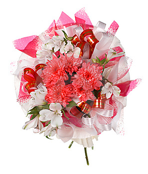 Big Wedding Bouquet Stock Image - Image: 9049841