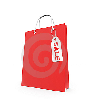 Paper Shopping Bag Stock Photography - Image: 9050542