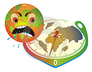 Angry Earth. Royalty Free Stock Photo - Image: 9050635