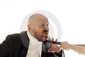 Cowardly Weak Man Royalty Free Stock Photo - Image: 9050715