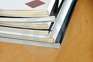 Magazines Pile Royalty Free Stock Images - Image: 9052599