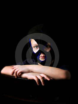 Masked Boy Stock Photos - Image: 9053843