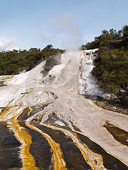 Silica Formations In Orakei Korako Royalty Free Stock Images - Image: 9053849