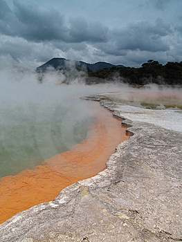 Champagne Pool In Wai-o-Tapu Stock Photos - Image: 9053883