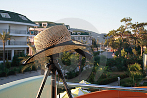 Hat On A Tripod Stock Photos - Image: 9054473