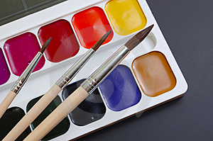 Palette Royalty Free Stock Image - Image: 9054766