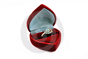 Pearl Ring Royalty Free Stock Image - Image: 9055386