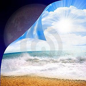 Beach Stock Photo - Image: 9056600