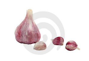Garlic Bulbs And Cloves Stock Photos - Image: 9057303