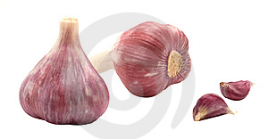 Garlic Bulbs And Cloves Royalty Free Stock Image - Image: 9057356