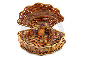Empty Woven Basket Royalty Free Stock Photo - Image: 9057485