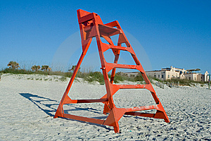Life Guard Chair Stock Images - Image: 9058334