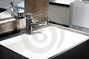 Water sink Stock Photos