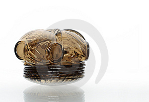 Schone Dishware Royalty-vrije Stock Foto's - Afbeelding: 9059948