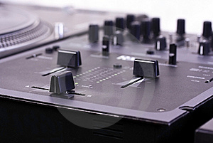 Dj Mixer Royalty Free Stock Images - Image: 9061039