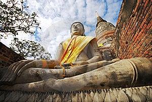 Monuments Of Buddha Royalty Free Stock Image - Image: 9061656