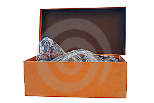 Simple Box Stock Photo - Image: 9061800