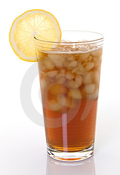 Glass Of Iced Tea With Lemon Royalty Free Stock Images - Image: 9062019