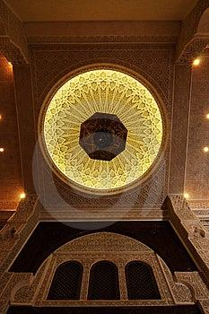 Interior Do Teto De Uma Casa Marroquina Imagem de Stock - Imagem: 9062411