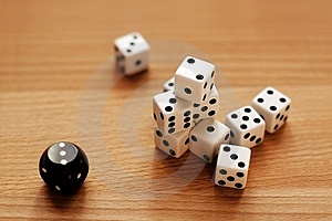 Dice Stock Photo - Image: 9062500
