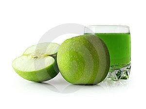 Apple verde Immagini Stock Libere da Diritti