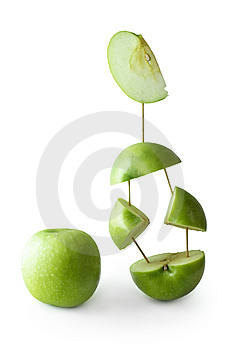Green Apple Royalty Free Stock Image - Image: 9062526