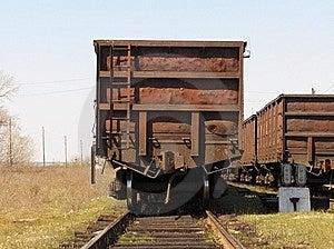 Old Railway Wagon Stock Photo - Image: 9062990