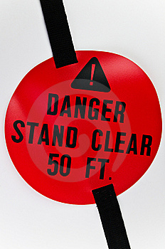 Red Warning Sign Royalty Free Stock Photography - Image: 9063727