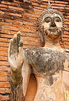 Buddha Image In Sukhothai Historical Park Royalty Free Stock Photography - Image: 9064847