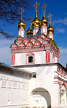Joseph-Volokolamsk Monastery Royalty Free Stock Photo - Image: 9065005