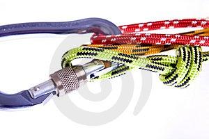 Climbing Rope Royalty Free Stock Image - Image: 9066166