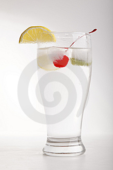 Glass Of Color Fruit Stock Images - Image: 9066334