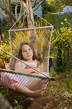 Girl In Hammock Dream Stock Photography - Image: 9068202