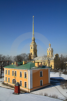 Peter And Paul Fortress Royalty Free Stock Images - Image: 9069679