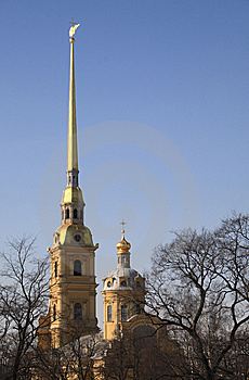 Peter And Paul Fortress Royalty Free Stock Images - Image: 9069719