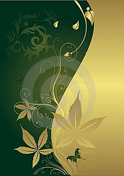 The Butterfly On A Gold Background Stock Photography - Image: 9069832
