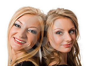Portrait Of Similar Sisters Royalty Free Stock Photos - Image: 9070178