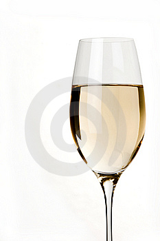 White  Wine Shot Stock Photo - Image: 9071060