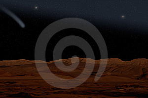 Red Planet. Royalty Free Stock Photography - Image: 9071447
