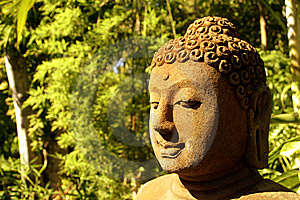 Buddha Statue In Forest Stock Photos - Image: 9071863