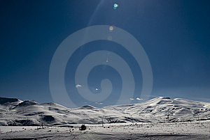 Snowcapped Mountains Stock Photos - Image: 9072483
