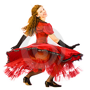 Dancing Girl Royalty Free Stock Photo - Image: 9073795