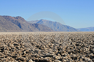Devil's Golf Course, Death Valley, California Stock Images - Image: 9075024