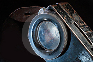 Antique Flashlight Royalty Free Stock Images - Image: 9075539