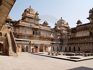 Palace In Orcha, Madhya Pradesh Stock Photos - Image: 9076303
