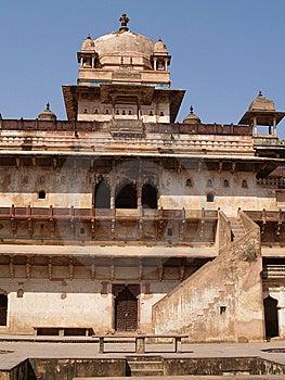Palace In Orcha, Madhya Pradesh Stock Image - Image: 9076391