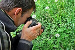 Natur-Fotograf Lizenzfreie Stockfotos - Bild: 9077698